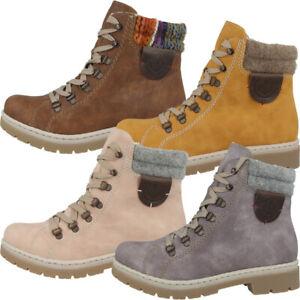 Rieker Schuhe Women Damen Winter Stiefel Boots Winterstiefel C5luq
