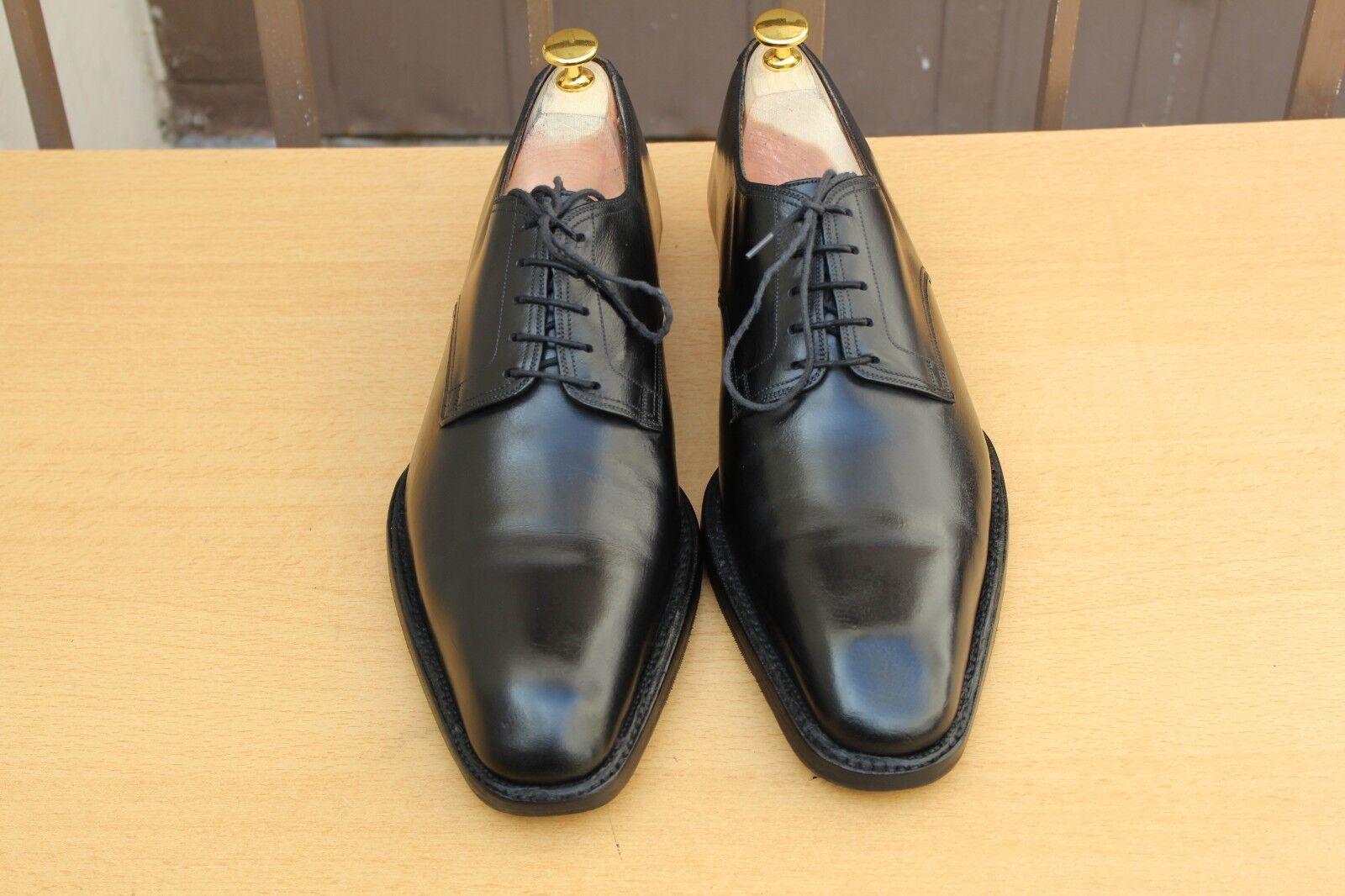 i nuovi stili più caldi CHAUSSURE scarpe JM WESTON CUIR nero nero nero 10 D 44 EXCELLENT ETAT uomo scarpe  nessun minimo