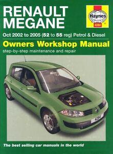 Renault-Megane-Petrol-and-Diesel-Service-and-Repair-Manual-2002-to-2005-Hayne
