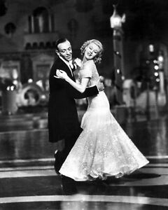 Film Actors Dancers Fred Astaire Ginger Rogers Glossy 8x10 Photo Print Poster Ebay