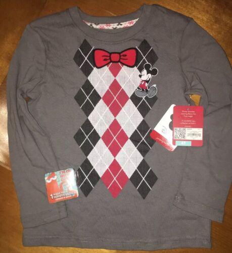 Disney Jumping Beans Mickey Mouse Bow Tie Shirt Boy/'s Sz 4T NWT Bonus Nemo Towel