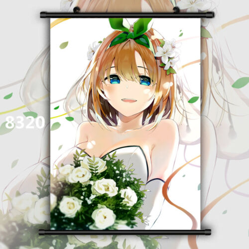 The Quintessential Quintuplets Anime Wall Art Poster Scroll Home Decoration