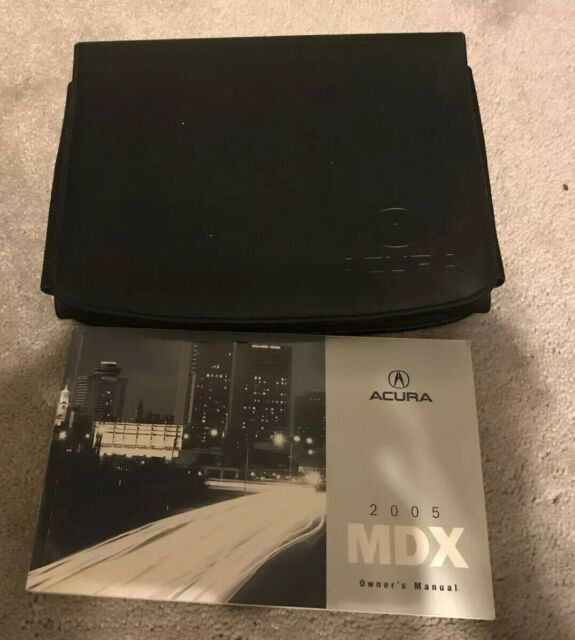 2005 05 ACURA MDX OWNER'S MANUAL SET BOOK OEM
