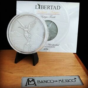 2018-MEXICO-2oz-SILVER-LIBERTAD-ANTIQUED-FINISH-MINT-SPECIALTY-COLLECTOR-SET