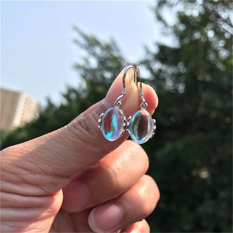 3 Pair Women Earrings Lady Water Drop Comma S Type Leather Hook Dangle Jewelry