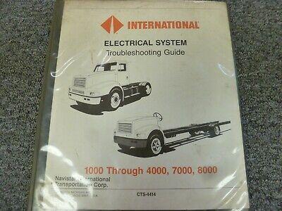 1987-1988 International 1452SC 1652SC Truck Electrical ...