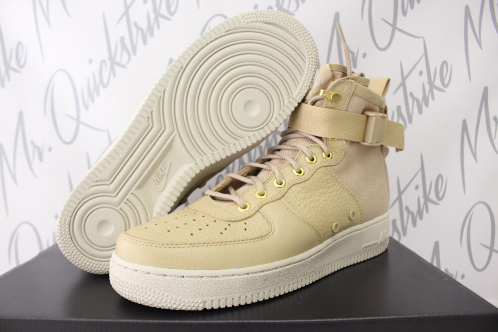 Nike sf met af1 air force 1 met sf sz 8 campo boot fungo luce ossa 917753 200 32801c
