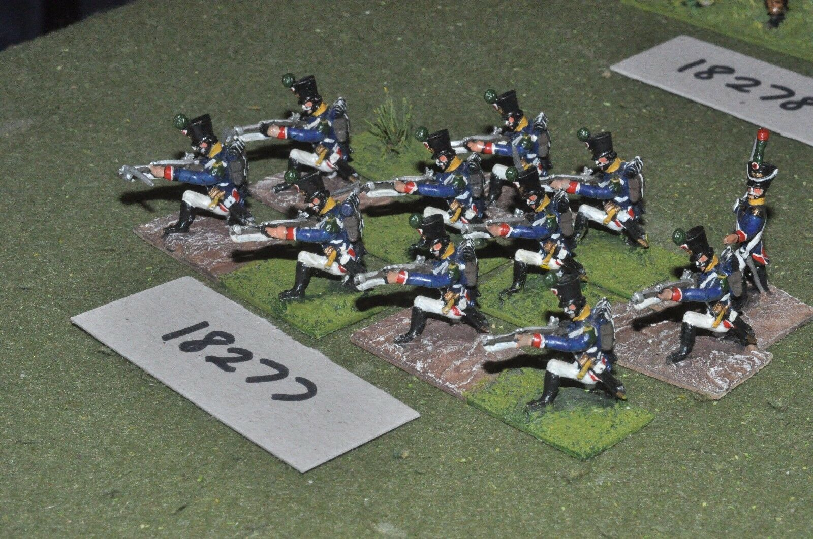 25mm napoleonic   french - infantry 11 figs - inf (18277)