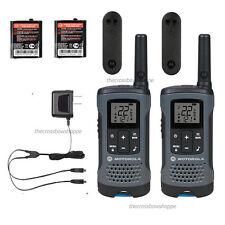 Motorola Talkabout T200 Walkie Talkie 2 Pack Set 20 Mile Two Way Radio Package