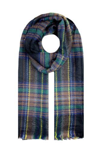 Women Men Large Thick Tartan Check Soft Warm Winter Autumn Scarf Shawl Wrap UK