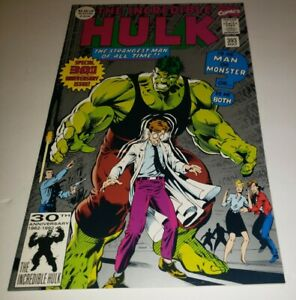 INCREDIBLE-HULK-393-SINGLE-OWNER-UNREAD-MINT-CONDITION-HIGH-GRADE-MAY-1992