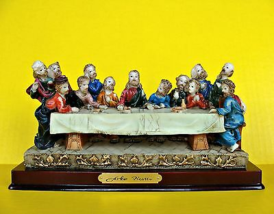 "The Last Supper 9"" Long Statue Figures Jesus Christ Figures 12 Disciples Apostol"