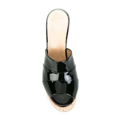 chaussures mules à Peep femmes plateforme fête compensées Toe de pour souliers de 2019 PxwqUpIW