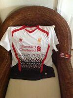Liverpool Lfc Premier League Warrior Red Futbol/soccer Jersey Size 14 Womens
