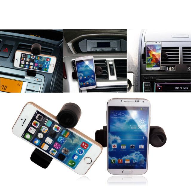 Adjustable Portable Mini Car Air Vent Mount Holder Cradle Bracket For Cell Phone
