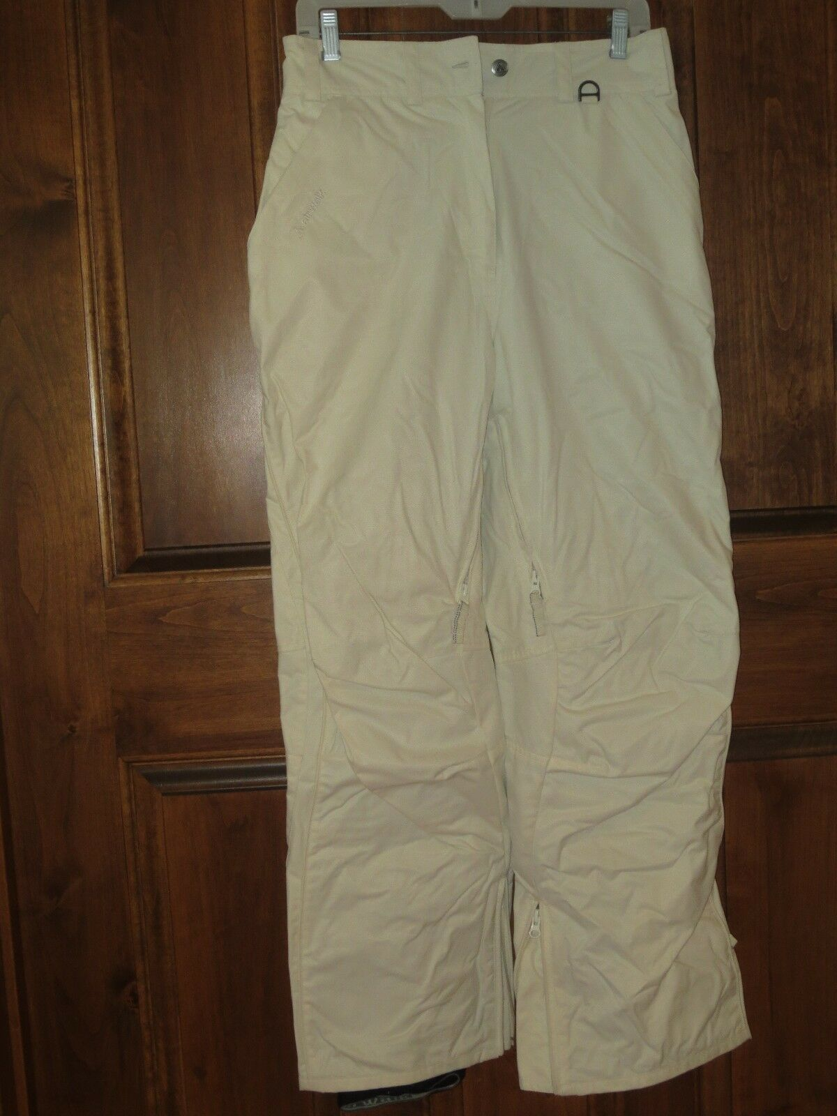 Airwalk Snowboard Ski Pants Wouomo Small Off bianca or Cream Coloreee FANTASTIC