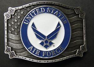 US-AIR-FORCE-WINGS-USAF-METAL-BELT-BUCKLE-3-2-INCHES
