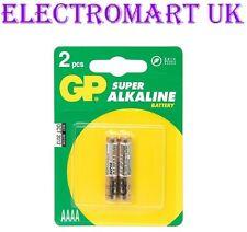 25a GP AAAA da lr8d425 e96 mn2500 1.5v Volt Batterie Alcaline x 2