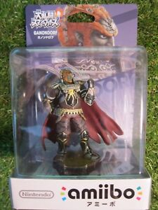 Details About Ganondorf Amiibo Legend Of Zelda Nintendo Smash Bros From Japan