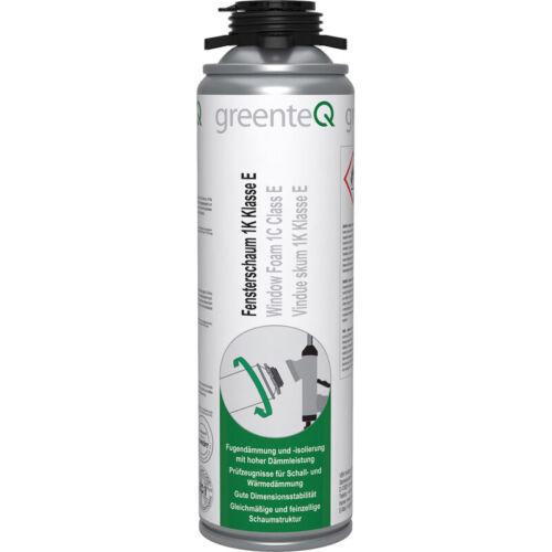 4x greenteQ 1K Pistolenschaum Bauschaum Fensterschaum Grau RAL 61 dB