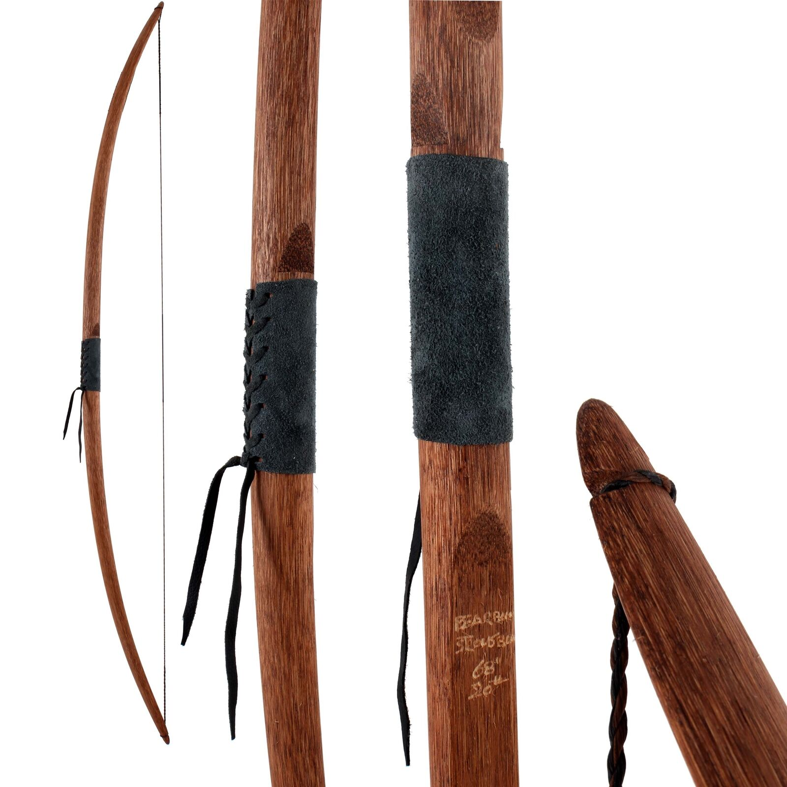 Englischer Englischer Englischer Langbogen Bearpaw Traditional Star long 68  Longbow 98ed54