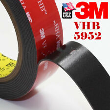 "3M 4910 VHB CLEAR FOAM DOUBLE STICK MOUNTING TAPE STRIPS 3//4/"" X 8/"" PCS .040 5PC"