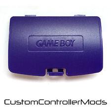 GAMEBOY COLOR GBC GAME BOY COLORE Sostituzione Batteria Coperchio-VIOLA