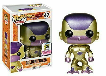 Figurine FUNKO POP 47 Dragon Ball Z Golden Frieza Figure Neuve