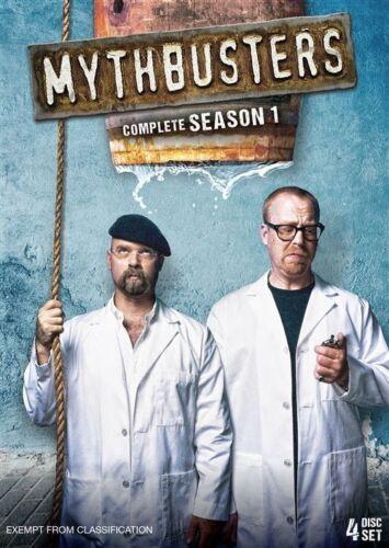 1 of 1 - MythBusters: Season 1 DVD * (Region 4 Australia)