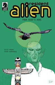 Resident-Alien-Your-Ride-039-s-Here-1-NM-1st-Print-Dark-Horse-Comics