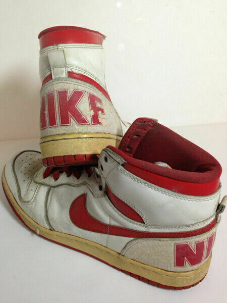 BIG NIKE VIntage Men's Sneakers shoes White Red Size JP 29 1986 Fashion