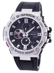 New Casio G-Shock G-Steel Tough Solar Connected Men's Watch GSTB100-1A