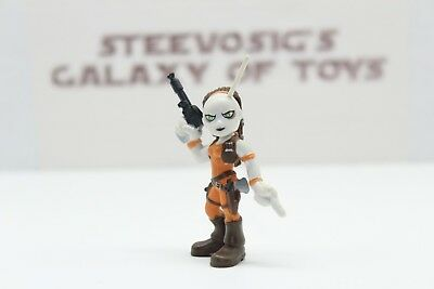 Star Wars Galactic Heroes AURRA SING figure bounty hunter Boy Toy Collection