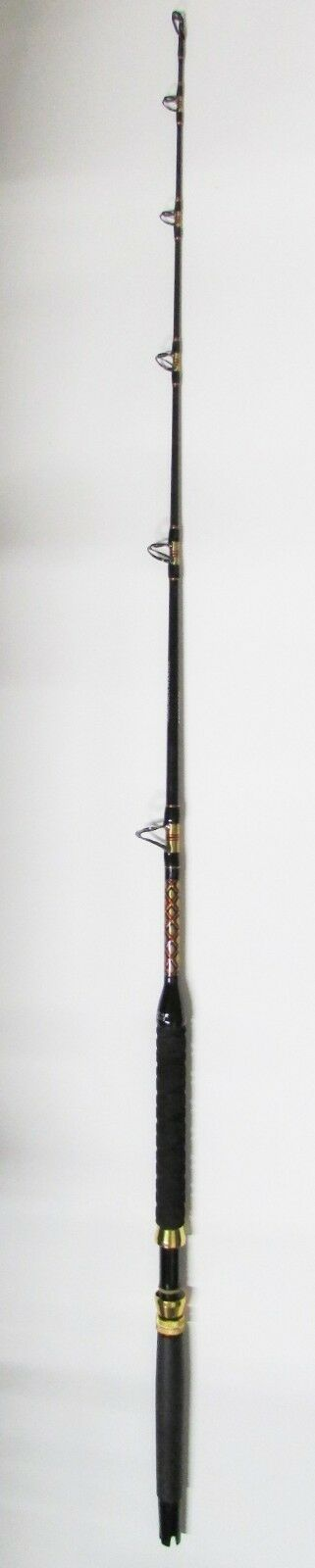 XCALIBER MARINE ROD  SALTWATER TURBO GUIDES 15-30 LB (gold AND RED TRIM)  buy cheap