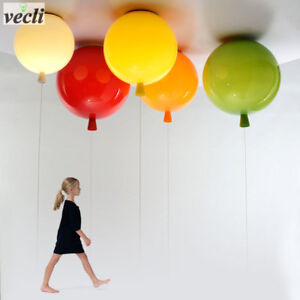 Details about Colorful balloon ceiling light,kid child bedroom lamp baby  room light