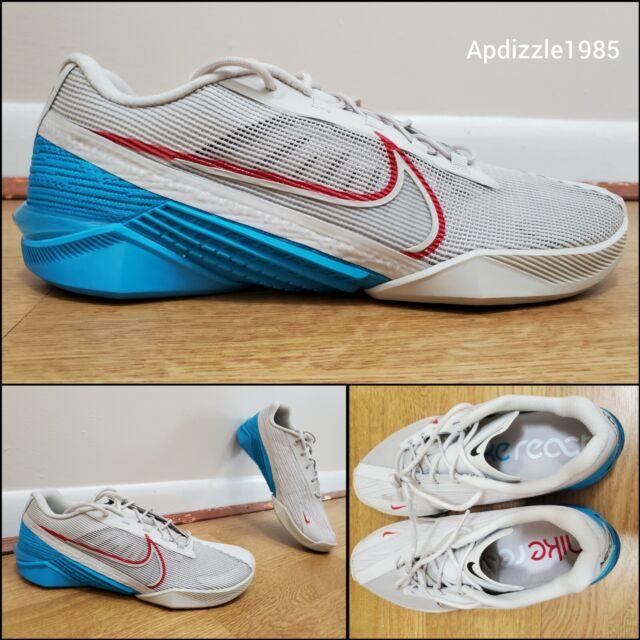 🔥 Nike Metcon React Turbo Training Shoes CT1243-003 Men's Size 10 Grey Deadlift