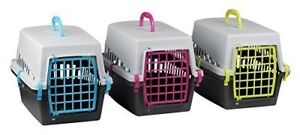 PLASTIC-PET-CARRIER-FOR-DOG-PUPPY-CAT-KITTEN-RABBIT-TRANSPORT-TRAVEL-BOX-CAGE