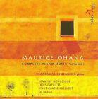 Maurice Ohana: Complete Piano Music, Vol. 1 (CD, Jan-2010, Telos)