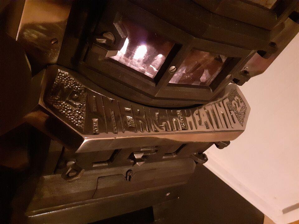 Brændeovn, American Heating, m. prøvningsattest