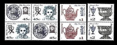 """Australia - 1995 - Cinquantenario Della """"national Trust"""". Fondo Patrimonio - (c) Met De Nieuwste Apparatuur En Technieken"""