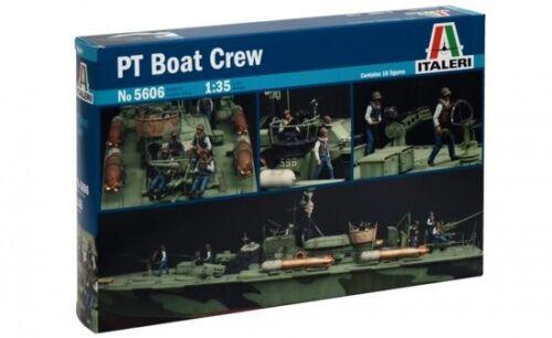 Neu Italeri 5606-1//35 Figuren Set Pt Boat Crew