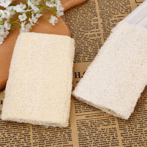 1X-natural-loofah-sponge-bath-rub-exfoliate-bath-towel-clean-body-exfoliatin-RBF
