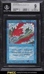 1993 Magic The Gathering MTG Beta Elemental Blast Blue C B BGS 9 MINT