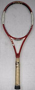 "wilson ncode six-one tour 90 tennis racket 4 3/8 27"" 12oz 16x19"