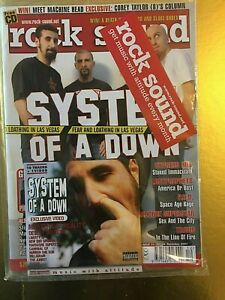Rock-Sound-31-December-2001-System-Of-A-Down-CD-New-Sealed-Green-Day-Slipknot