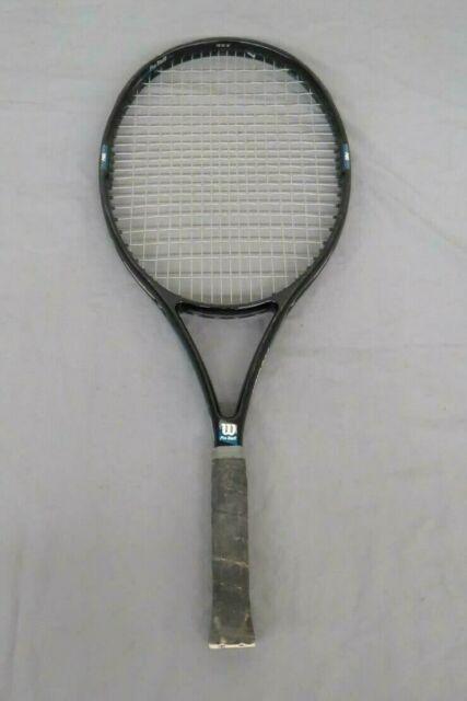 Wilson Pro Staff >> Wilson Pro Staff 4 5 Si Oversize 4 5 8 Tennis Racquet 95 Sq In For
