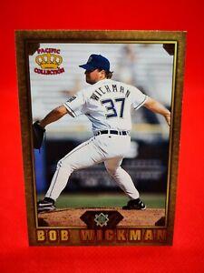 Pacific 1997 carte card Baseball MLB NM+/M Milwaukee Brewers GD-61 Bob Wickman