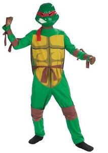 052557517a9 Details about Teenage Mutant Ninja Turtles Raphael Kids Costume- Large (  Size 10-12 ) 50386