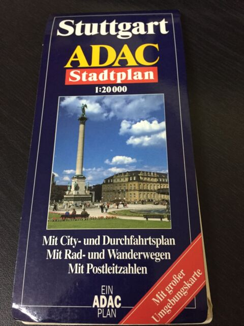 ADAC Stadtplan Stuttgart: StadtInfo & Register / Umgebun... | Buch | Zustand gut