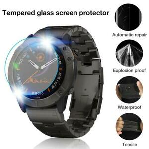2X-For-Garmin-Fenix-6X-6S-Pro-Smart-Watch-Tempered-Glass-Screen-Protector-Film